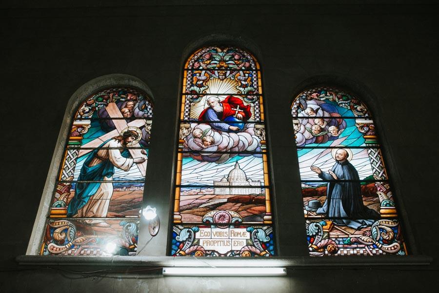 Ventanales de la Iglesia
