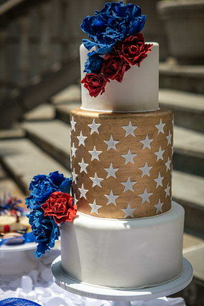 July 4th Wedding