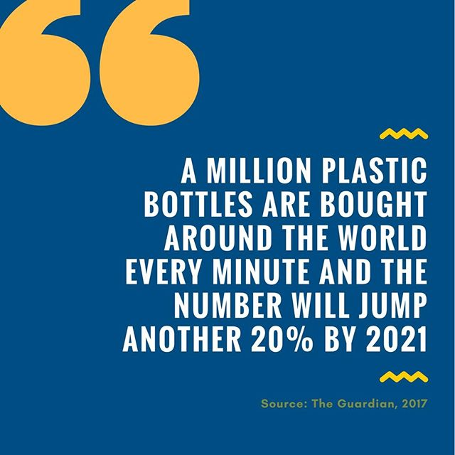 Once you start noticing plastic, it's hard to stop... it really is everywhere. This week, or even just today, see if you can avoid it. It's a serious challenge! For #EarthMonth, we aim to bring to your attention some of the most pressing environmental issues. Knowledge is power! #stats #facts #environment #plasticpollution