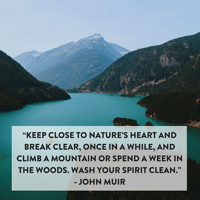 #EarthDay is around the corner and this quote is a wonderful reminder for us to go outside and enjoy the natural world. Go for a walk, swim or run this weekend and appreciate the beauty of your surroundings! #FridayFeeling #EarthMonth #Nature