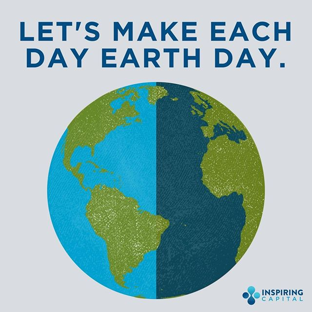 Happy #EarthDay, let's have more of them! We must be mindful of living #sustainably so that future generations can enjoy our natural environment too!