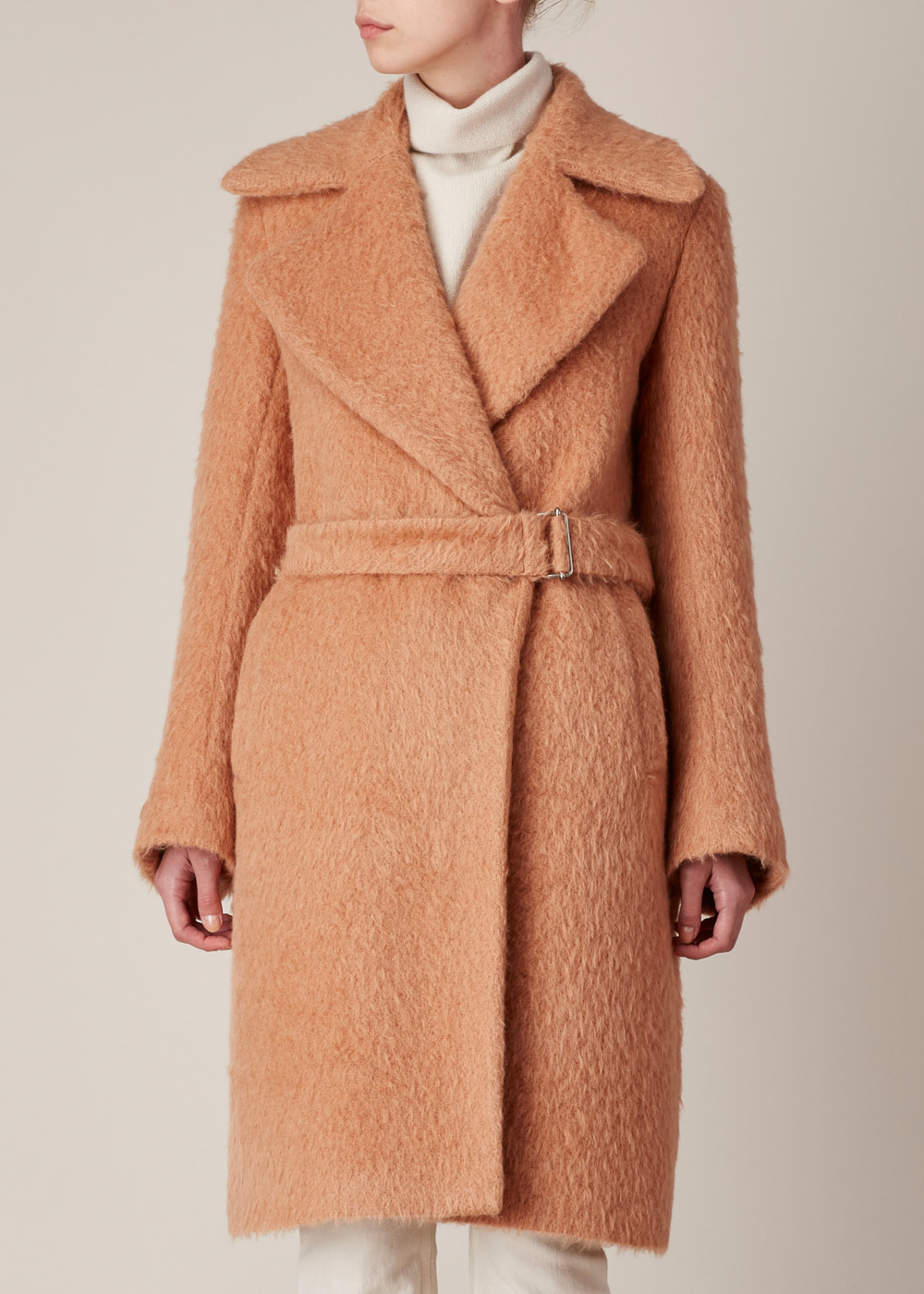 Dries van Noten Peach Riviera Coat