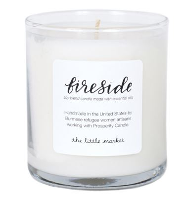 The Little Market | Soy Blend Candle - Fireside