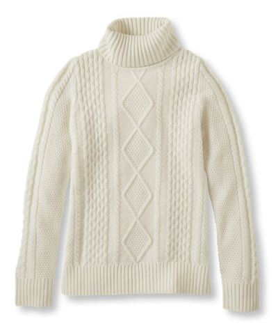 L.L. Bean | Vintage Cable Turtleneck