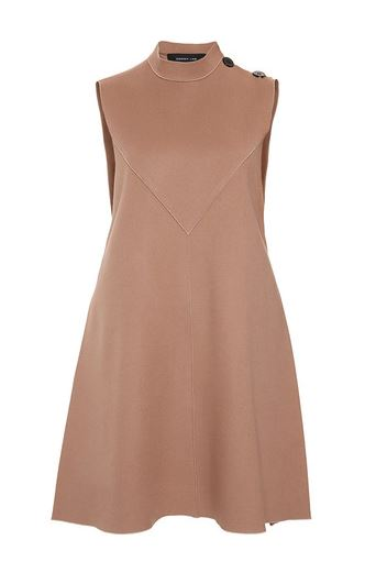Derek Lam | Camel sleeveless flare dress