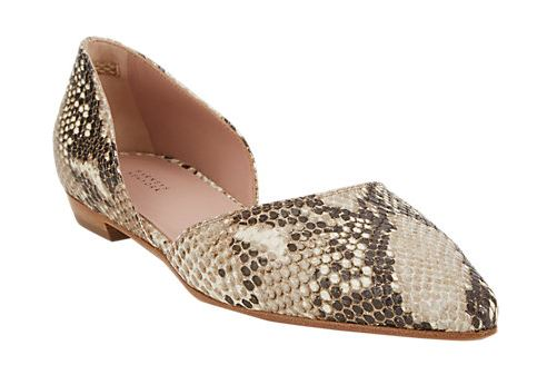 Barney's New York Gabby Point-Toe D'Orsay Flat