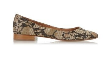 M Missoni Metallic crochet-knit point-toe flats
