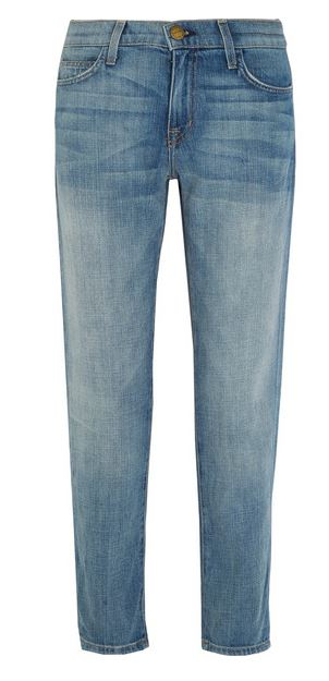 Current/Elliott mid-rise slim boyfriend jeans