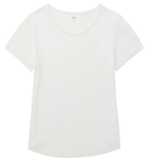 Uniqlo White Tee