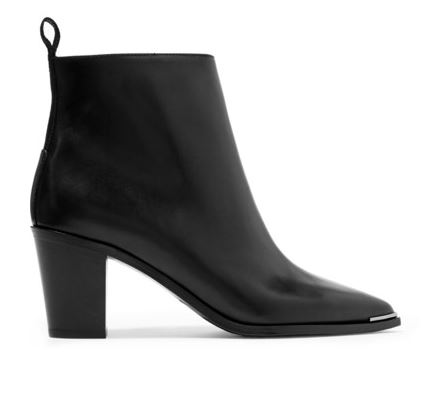 Acne Studios Black Ankle Boots