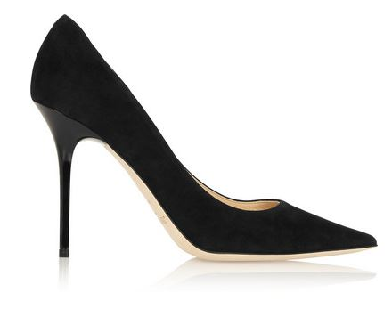 Jimmy Choo Black Abel Suede Pumps