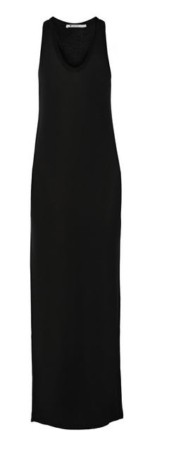 T by Alexander Wang Black Maxi Dress