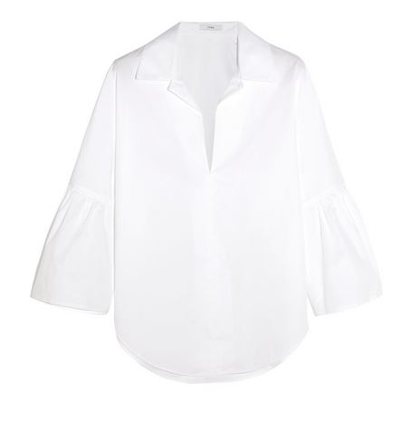 Tome Statement Sleeve White button down shirt