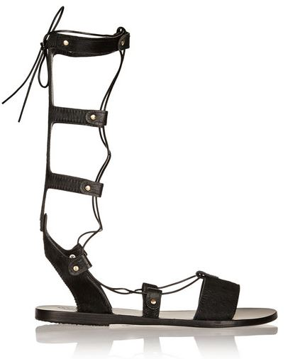 Ancient Greek Sandals gladiator lace up sandals