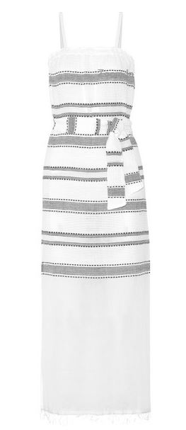 LemLem Addis striped cotton gauze dress