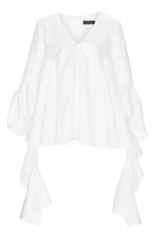 Ellery draped lyon shirt