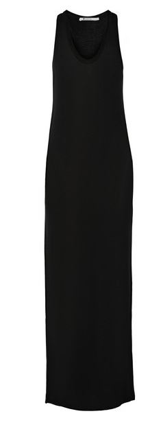 T by Alexander Wang black maxi