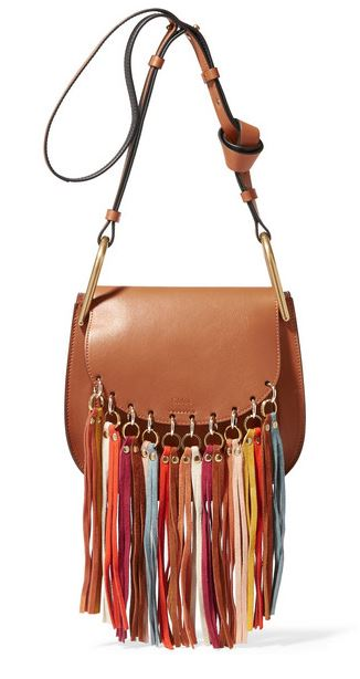 Chloe - Hudson tasseled bag