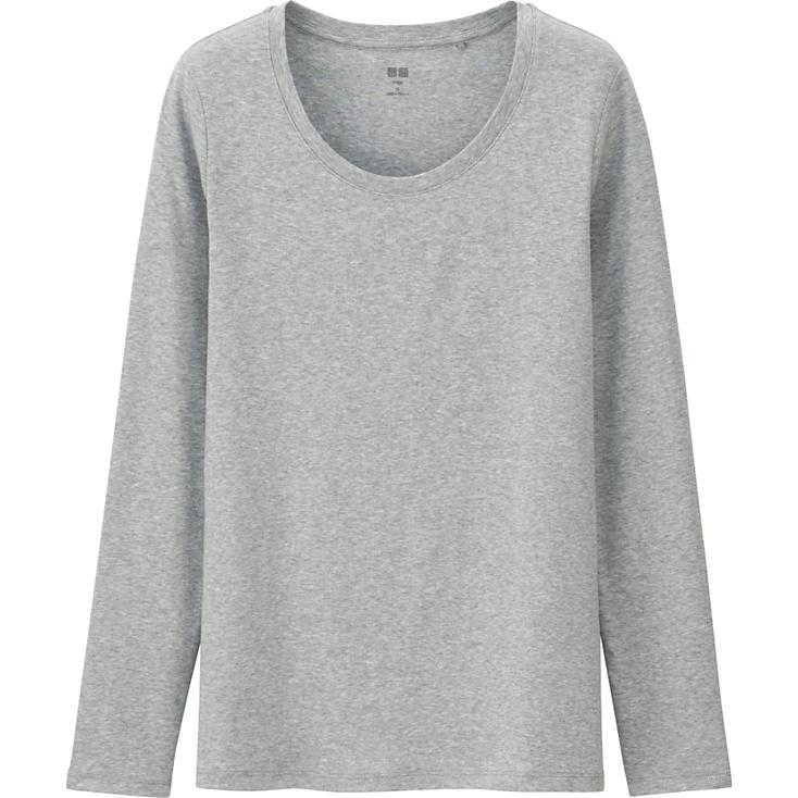 Uniqlo Supima Cotton Long Sleeve Tee