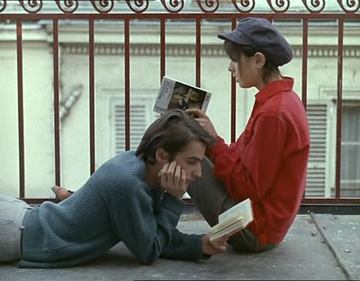 Image from Jean-Luc Godard's La Chinoise