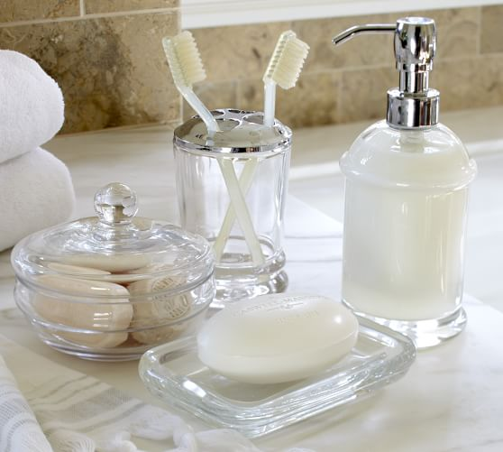 pottery barn soap and lotion dispensers