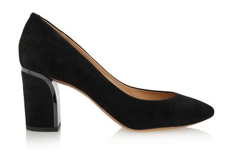 Chloe black block heel