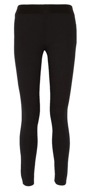 Acne Studios black stretch twill pants