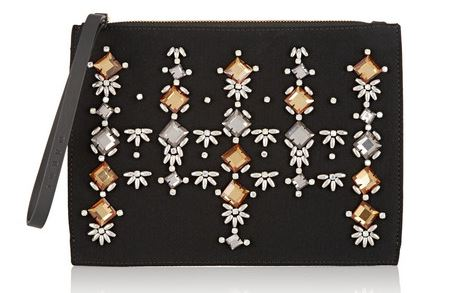 Marni embellished clutch