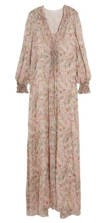 Vilshenko flora maxi dress