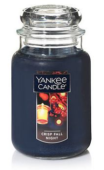Yankee Candle Crisp Fall Night