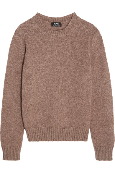 APChttps://www.net-a-porter.com/us/en/product/756957/a_p_c__atelier_de_production_et_de_creation/sweet-knitted-sweater