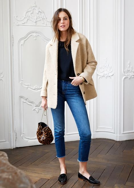 sezane alicia coat