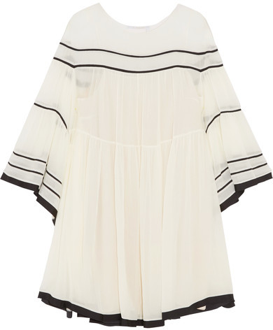 net-a-porter sale chloe dress