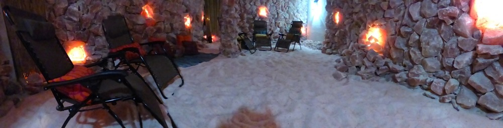 Bethesda Salt Cave's Halomed-equipped Himalayan Salt Grotto