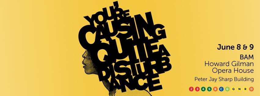 You're Causing Quite a Disturbance