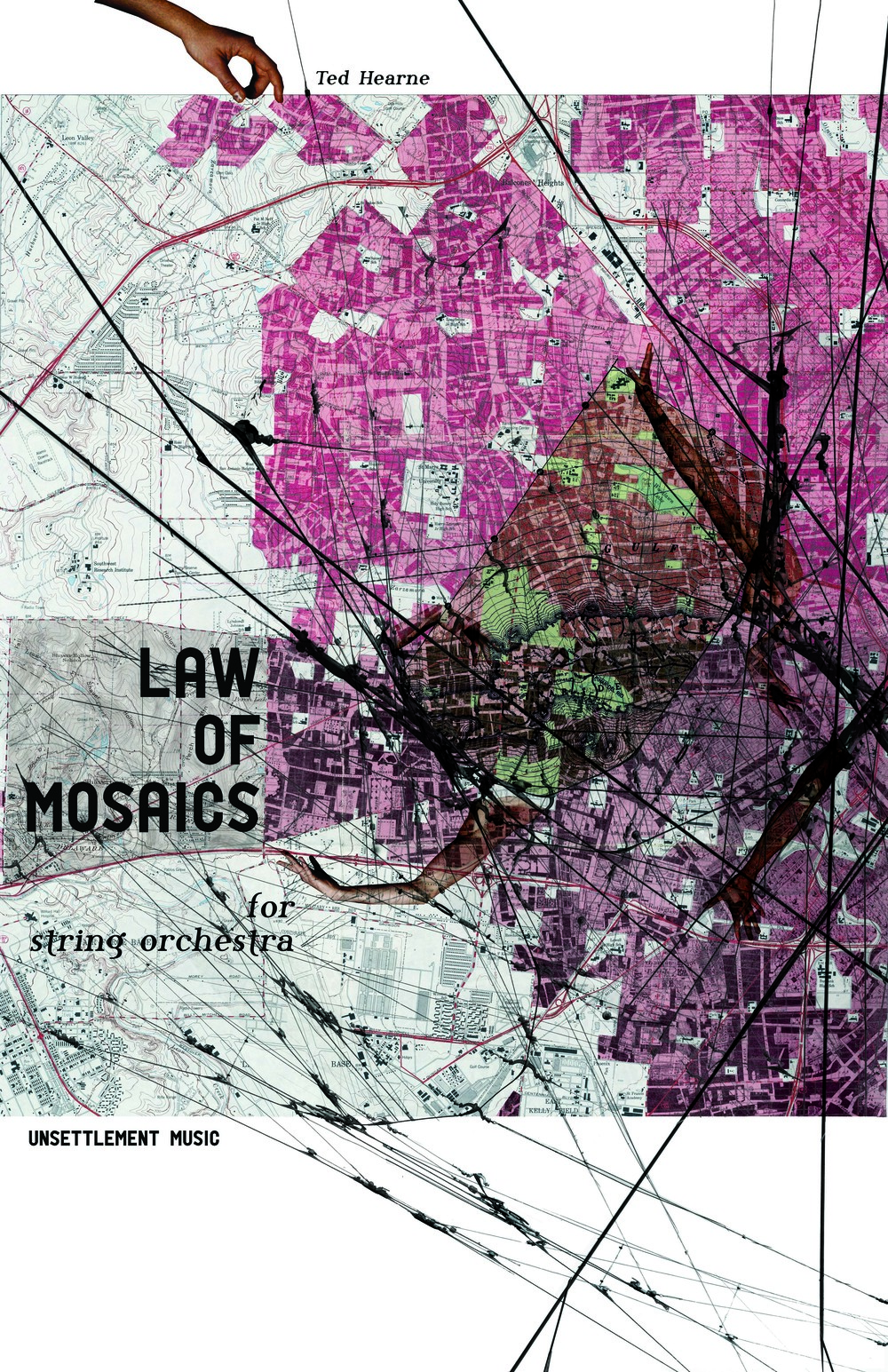 """Law of Mosaics"" score cover design by Emily Weidenhof"