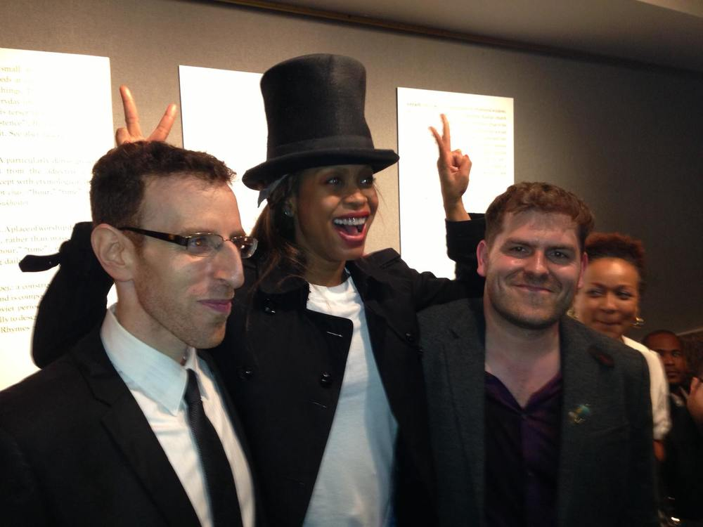 Erykah Badu with Ted Hearne and Alan Pierson