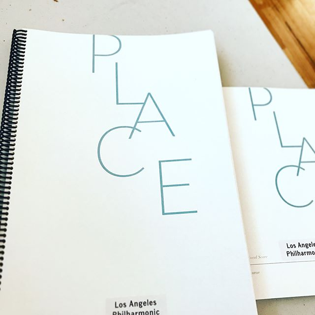 It's been an incredible week putting together 'Place' with the @laphil, @bethmorrisonprojects and such a stunning collection of artists.  Director @patriciamcgregor Libretto by @saulwilliams  Singers @solruiztribu @stevenbradshawart @josephineleemusic @zayrob423 @ladysemmes @songg.byrd @ayannayaddawoods  Band @bruthab76 @rceeezy @ronwiltrout @ttttaylorrrr @no_philter_is_apparently_taken so much love here!