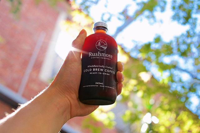 We're enjoying our cold brew in the winter sun today, soaking up all the rays we can! We're switching things up with our small bottles soon so if you love this little guy you better get in quick before they're gone! Bottles are still available in stores and online. 🤙🏼
