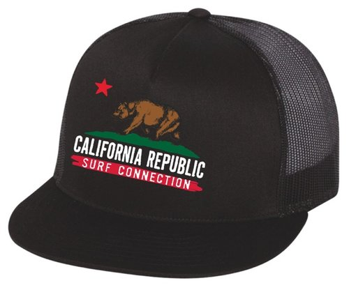 California Bear Trucker Hat — Surf Connection 2776e173ed5