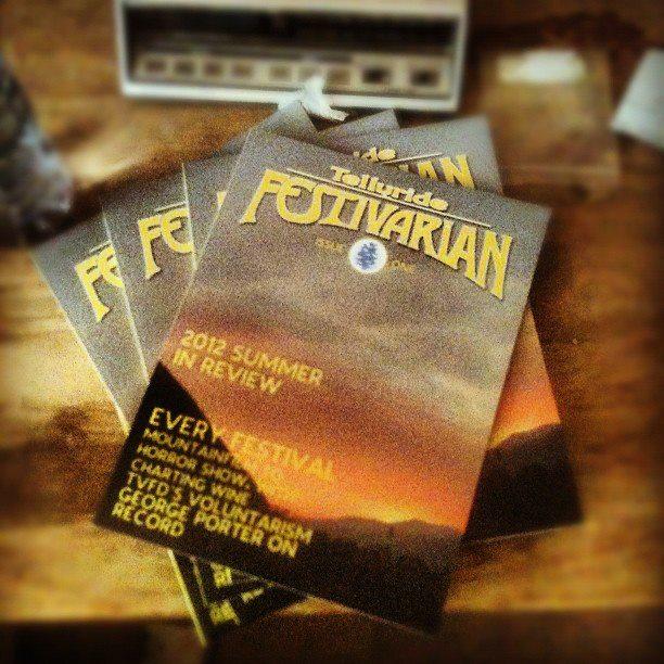 Telluride Festivarian Magazine Style Guide