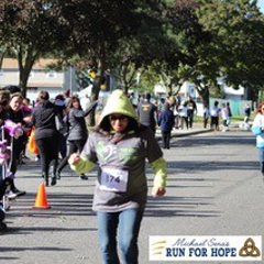 Participating in the Run For Hope