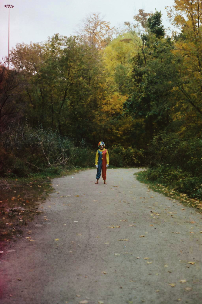 """Outtake from """"Danger, Stay On Trail"""",35mm film."""