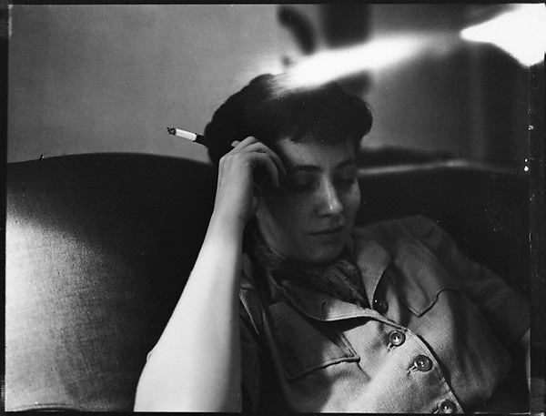 MET: Jane Smith Evans, di Walker Evans, 1942