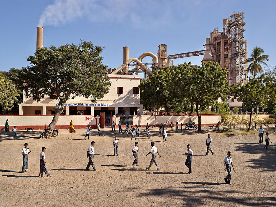 James Mollison\ SDCCL Public School, Sikka, Gujarat, India