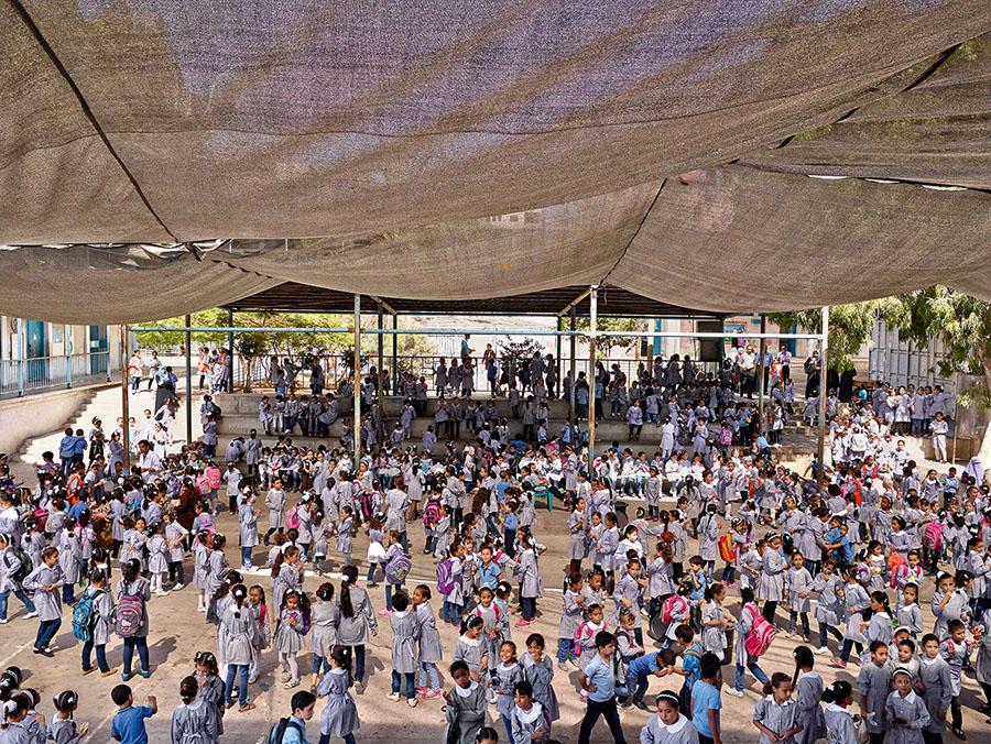 James Mollison\Maamounia Elementary Rhimal Area, Gaza City, Gaza