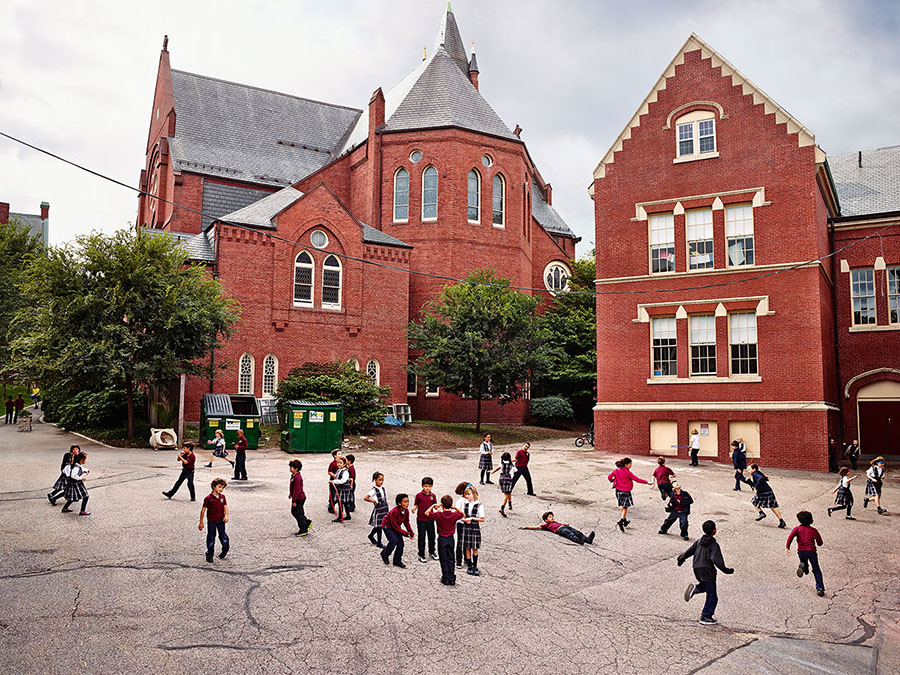 James Mollison\ St. Mary of the Assumption Elementary School, Brookline, Massachusetts