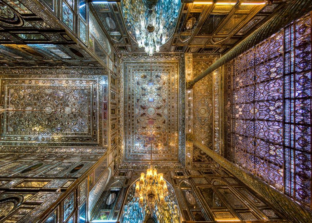 Ceiling, Golestan palace, Tehran