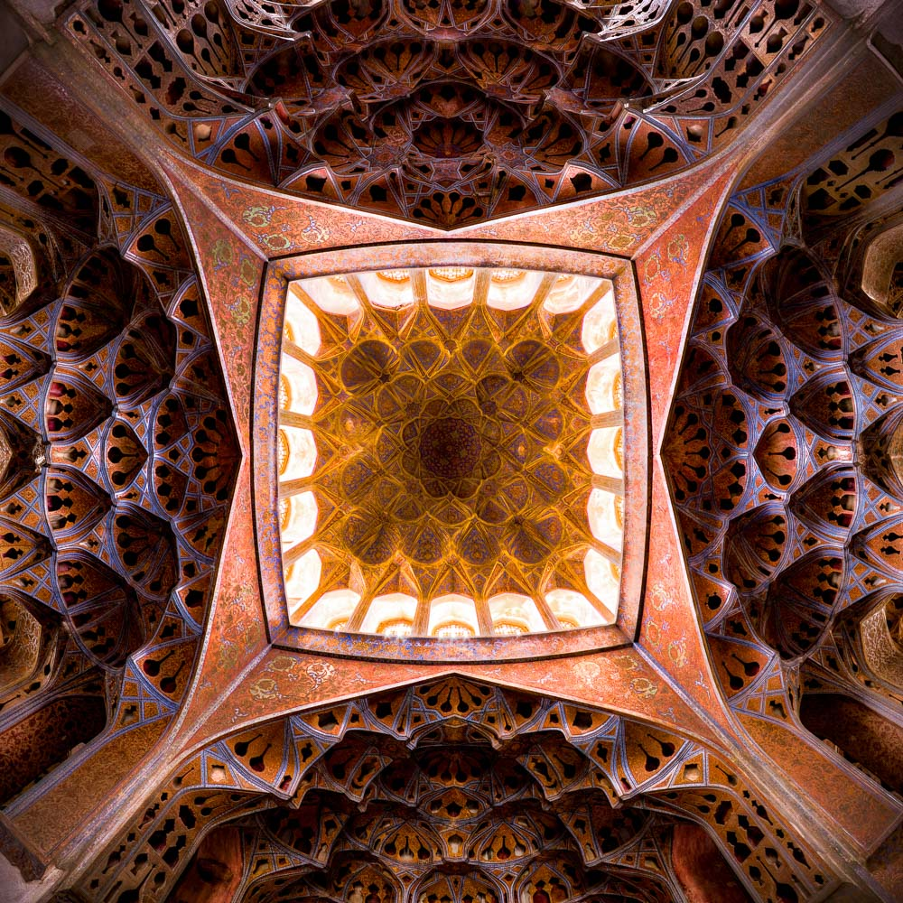 Ceiling of Aliqapu, Isfahan