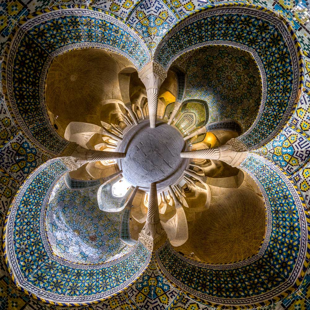 Vakil mosque(little planet version)